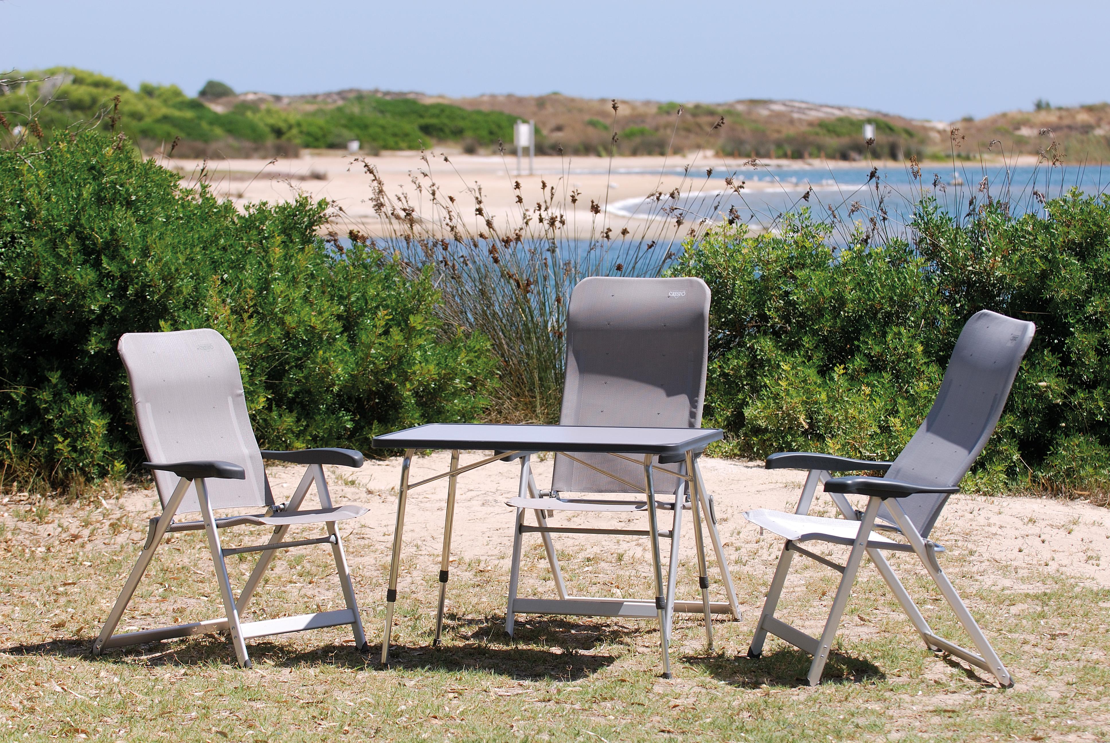 Tienda de mesas y sillas muebles jardin madera de teka teca with tienda de mesas y sillas - Sillas de camping plegables ...