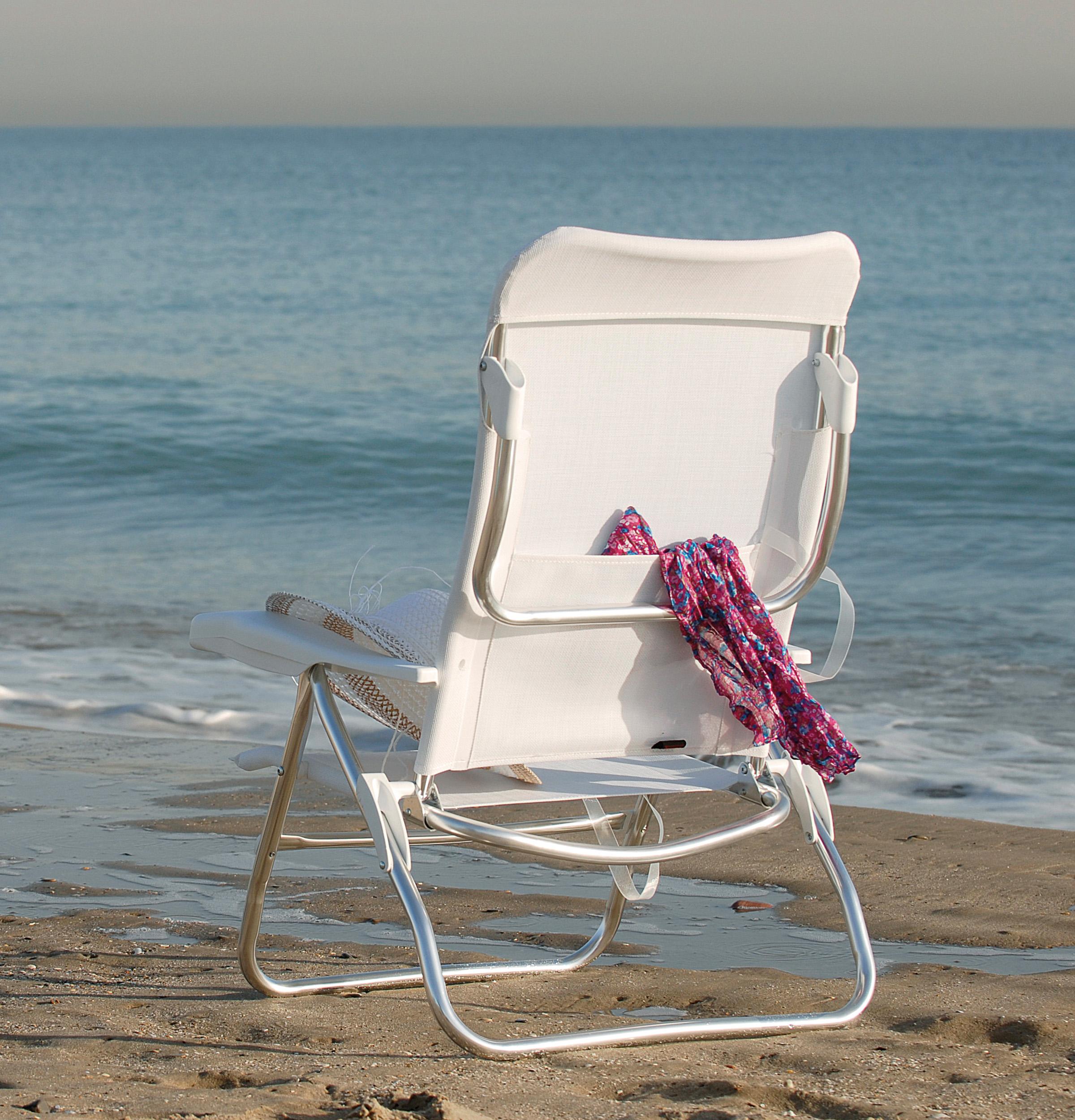 Excepcional sillas playa aluminio embellecimiento ideas for Sillas para playa