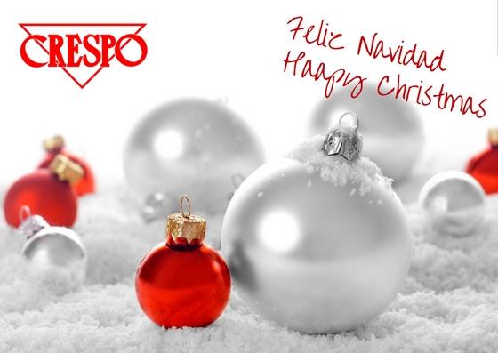 Crespo les desea felices fiestas crespo wish you happy - Indual mobiliario ...
