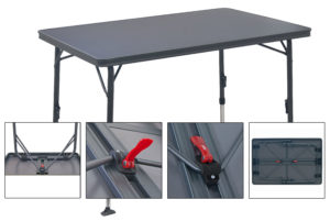best camping table, strong and duirable