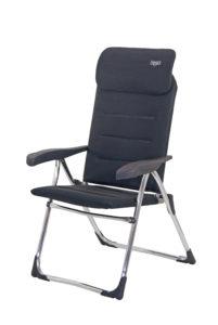 silla extraplana plegable acolchada