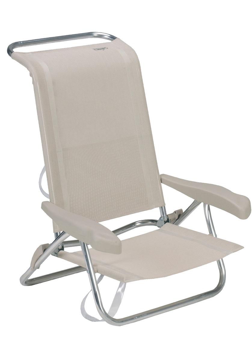 Crespo silla cama playa - Silla playa aluminio ...