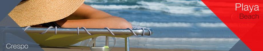 sillas playa