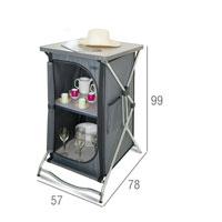 armario compacto camping