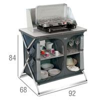 armario cocina camping