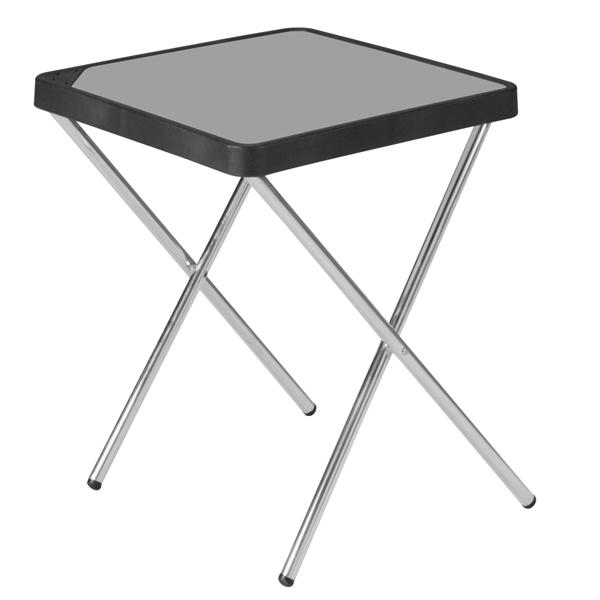 Mesas de camping crespo plegables y de aluminio for Mesas tableros plegables