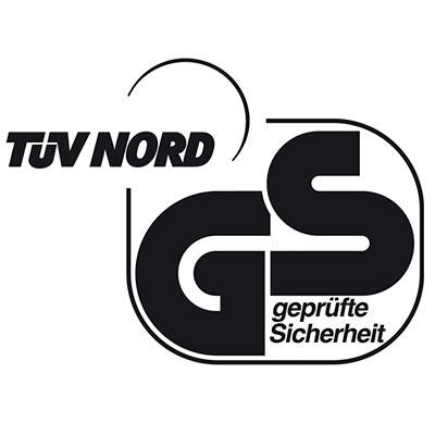 Certificado de calidad TÜV GS